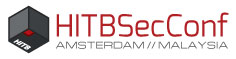 Logo HITBSecConf2018 – Amsterdam